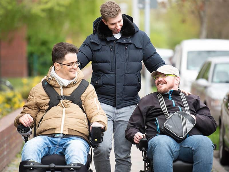 Phönix - Soziale Dienste in Berlin - Unsere Leistungen - Persönliche Assistenz